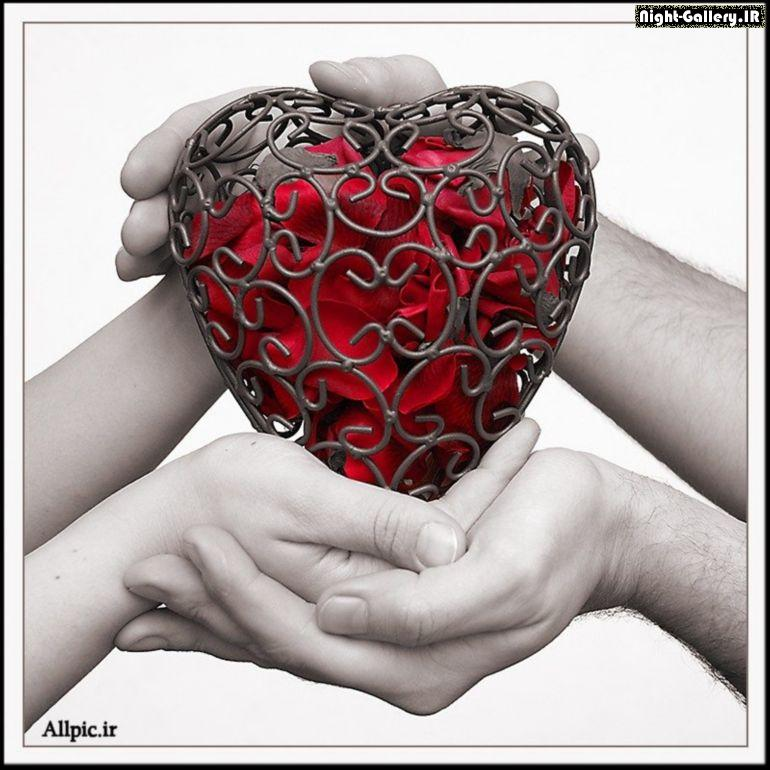 عکس عاشقانه ، کارت پستال عاشقانه