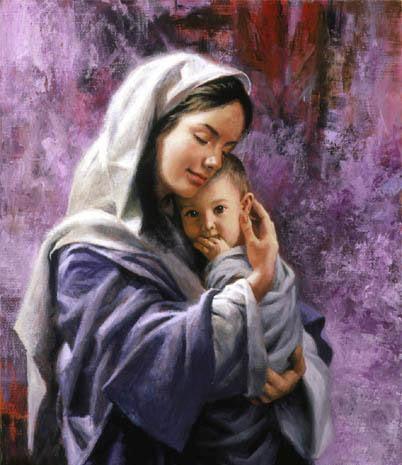 عکس عاشقانه مادر